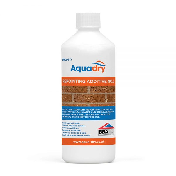 Aquadry Repointing Additive No.2
