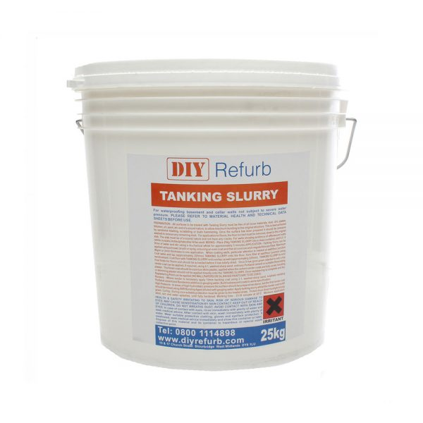 DIY Refurb - Tanking Slurry