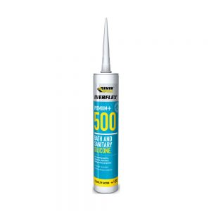 Everbuild 500 Bath & Sanitary Silicone