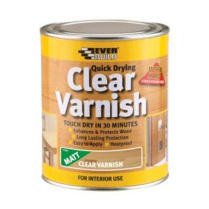 Everbuild Clear Varnish