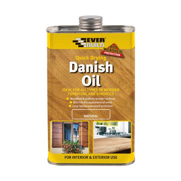 Everbuild Danish Oil