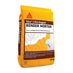 Everbuild Sika 1 Render Mortar