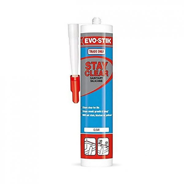Evo-Stik Stay Clear Sanitary Silicone