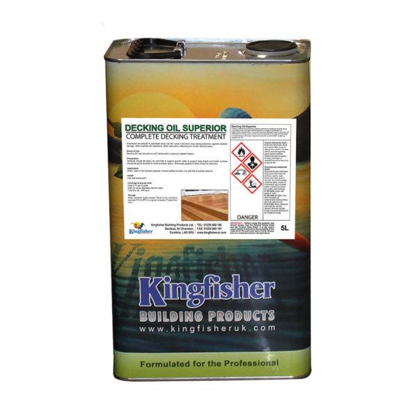 Kingfisher Decking Oil Superior