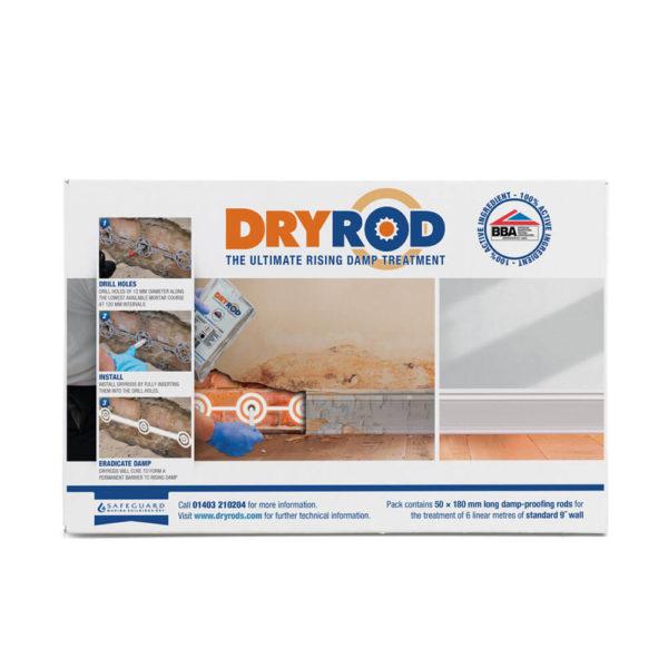 Safeguard Dryrod Damp Proofing Rods