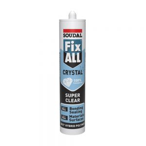 Soudal Fix All Crystal Sealant